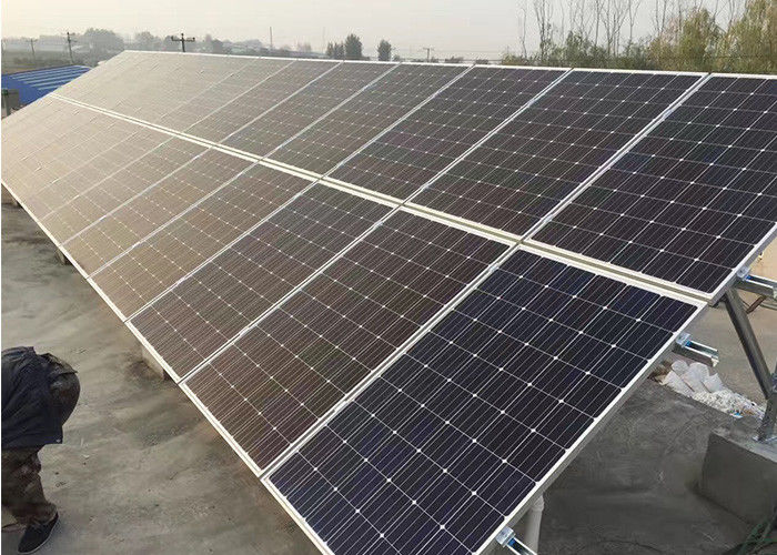 Black Stock Poly Solar Panel , Solar Energy System ISO9001 Standard